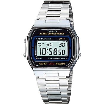 [カシオ] 腕時計 スタンダード A164WA-1 シルバー
