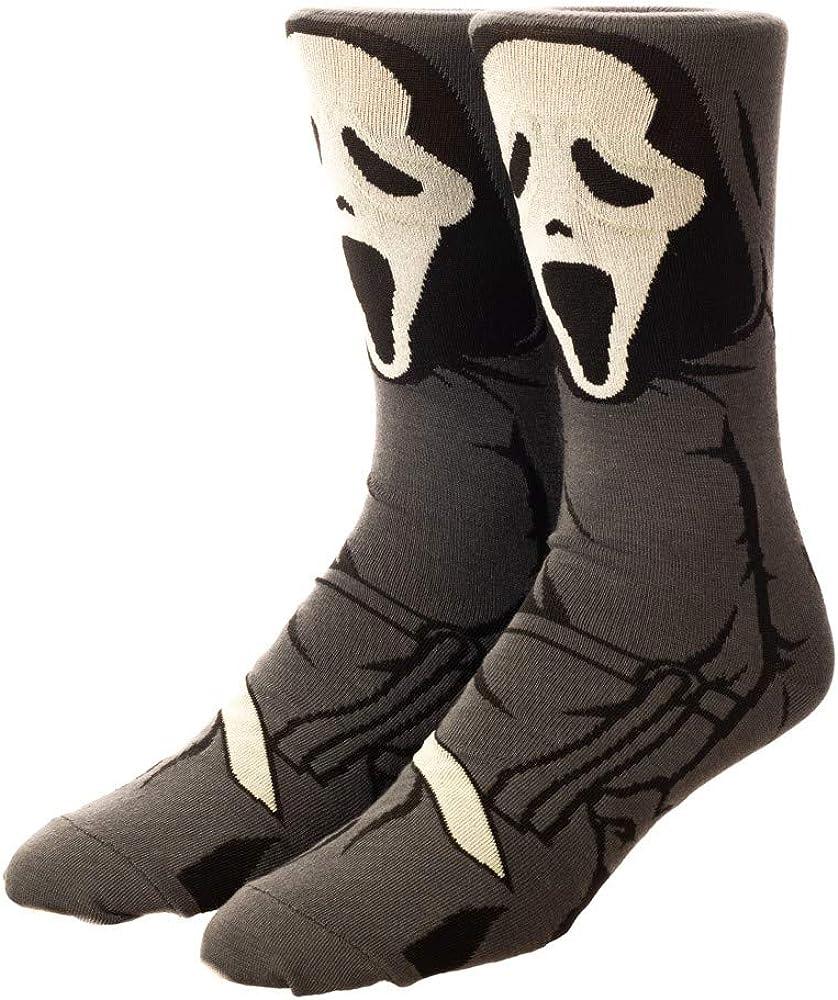 Ghostface 360 Character Crew Sock