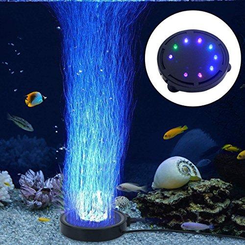 LONDAFISH Luz de la Burbuja del Acuario Luz de la lámpara de la Burbu