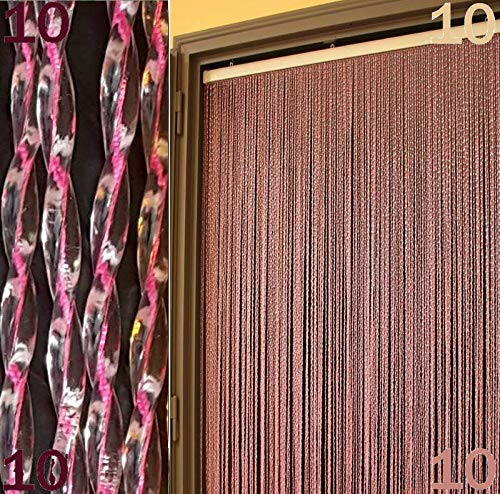 Cortina moschiera Mosquitera PVC Roma 11colores 4tamaños Made in Italy by bricoshopping