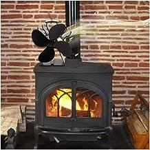4 paletas de viento caliente Estufa, Ventilador termodinámica, electricidad, protección del medio ambiente y el ahorro energético, transferir rápidamente calor cada esquina de la habitación mejorada