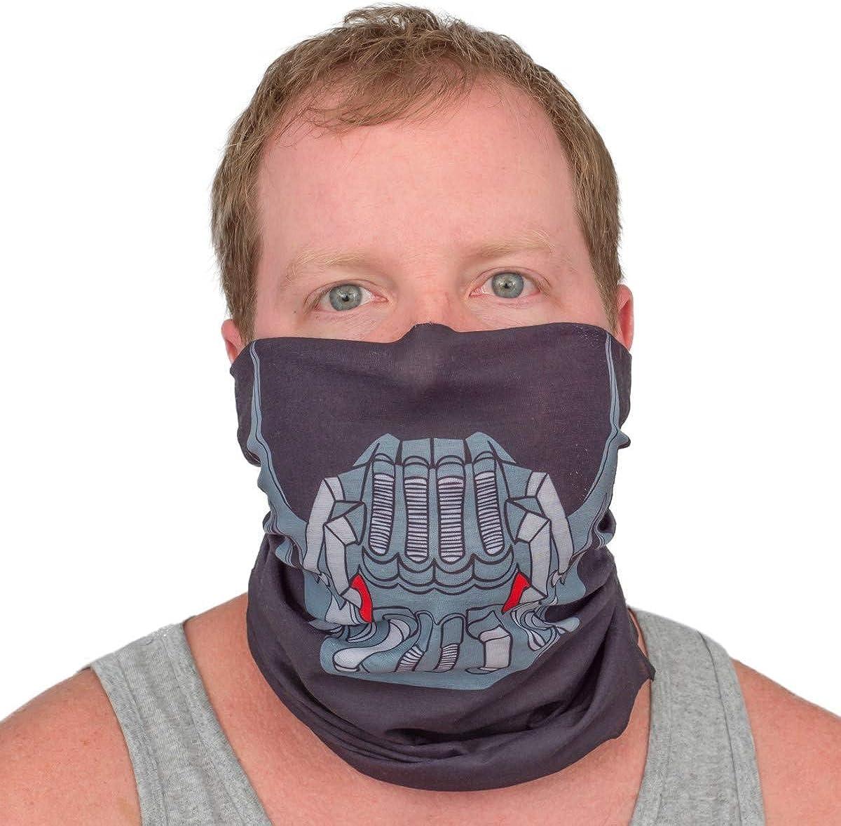 Neck Gaiter with Designs Lightweight UV Protection Headwear