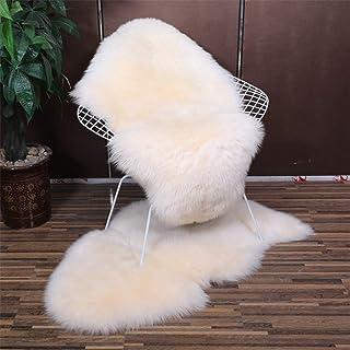 Cojín de silla de lana, cojín de silla reclinable, cojín de silla mecedora, cojín de sofá de lana, cojín de silla de ratán nórdico, cojín de patio de tumbona respaldo alto-100x75 cm (39x29 pulgadas)