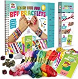 Friendship Bracelet Making Kit, Huge Value, Letter Beads, Crafts For Girls, 20 Multi-Color Embroidery Floss, A-Z Alphabet Beads, Knot Patterns, Colorful String, Bracelet Charms, Friendship Bracelets