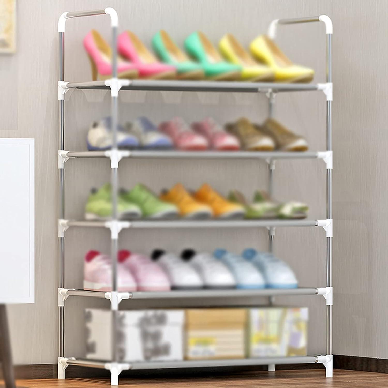 LYYJF High quality new Shoe Rack 5 Tier Organiser St Storage Shelf Max 74% OFF