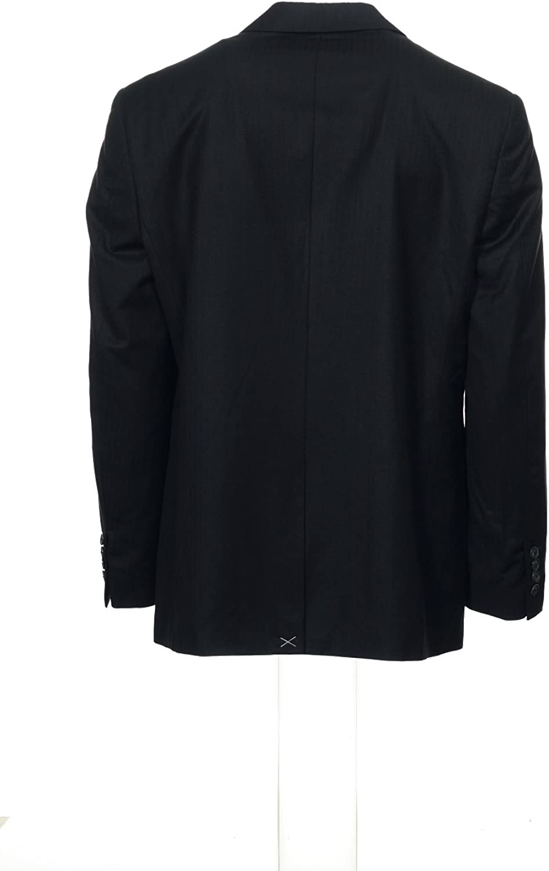 Perry Ellis Men's Gray Pinstripe Blazer