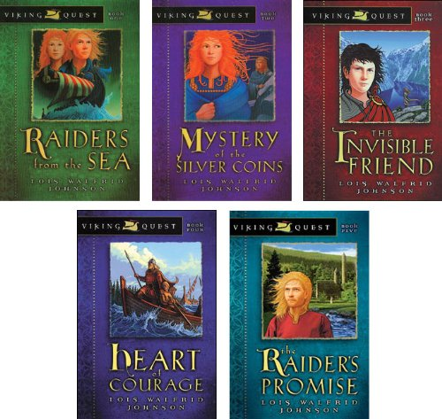 Price comparison product image Viking Quest Series Set of 5 Volumes Including Raiders From the Sea,  Mystery of the Silver Coins,  the Invisible Friend,  Heart of Courage,  and the Raider's Promise