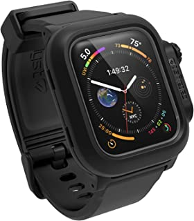 Catalyst Waterproof for Apple Watch Case Series 4 44mm with Premium Soft Silicone Apple Watch Band, Shock Proof Impact Res...