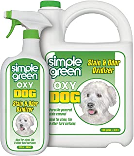 Simple Green Oxy Dog Stain and Odor Oxidizer – Peroxide Cleaner for Urine, Feces, Vomit, Drool