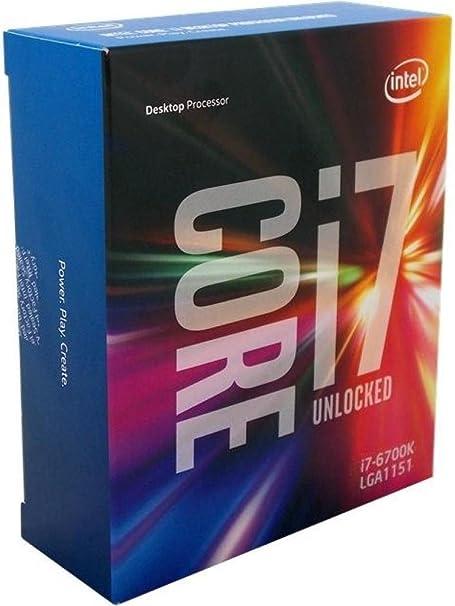 Intel Core I7 6700k 6th Generation Processor Computers Accessories