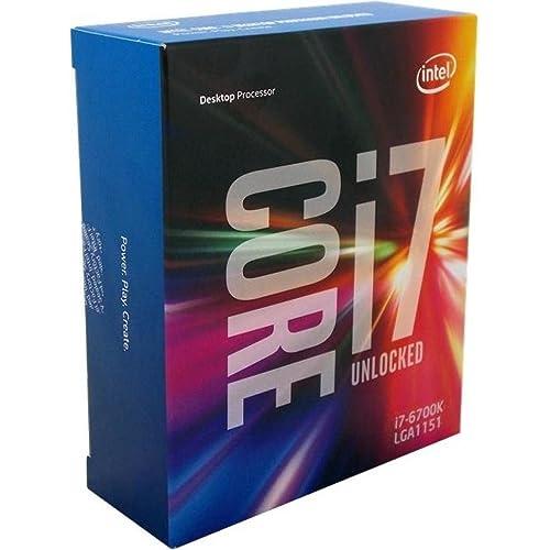 Intel Core i7-6700K Prozessor der 6. Generation (bis zu 4 GHz mit Intel Turbo-Boost-Technik 2.0, 8 MB Intel Smart-Cache)