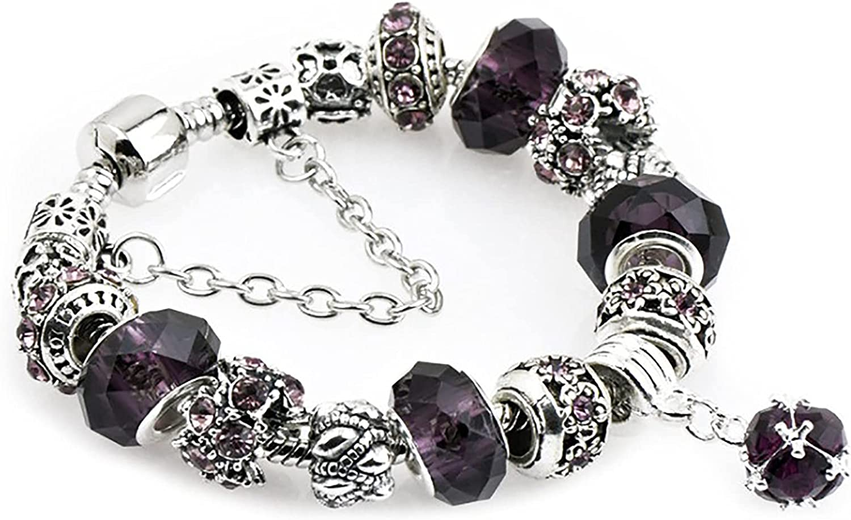 depot ZXPPL Fashion Chicago Mall Crystal Glass Bracelet Ethnic Beaded Brace