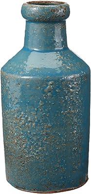 ELK Rustic Ocean Milk Bottle, Blue