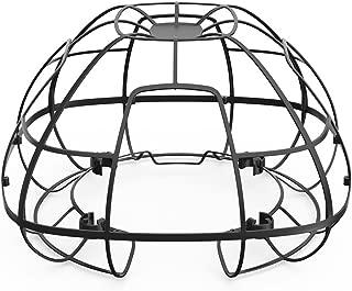 Hensych 360° 完全保護 球状 ケージ カバー プロテクター ガードfor DJI Tello ドローン アクセサリー、ブラック