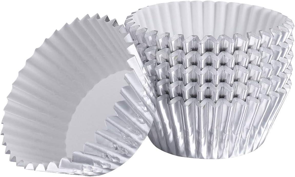 Cabilock Baking Cup 400pcs Thicken Muffin Cu Genuine Paper Aluminum Foil Max 52% OFF