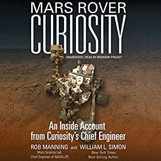 Mars Rover Curiosity cover art