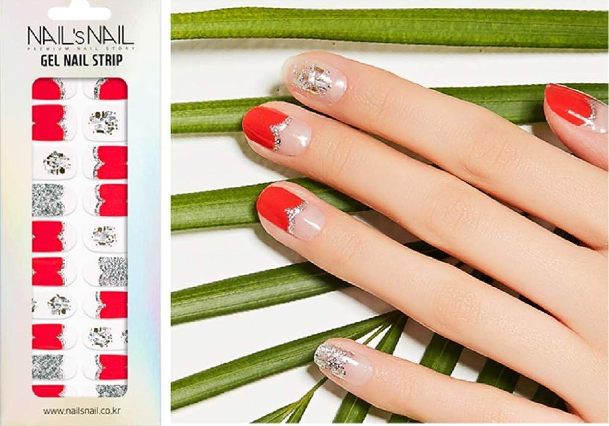 敬の念控えるスリラー\貼るジェルネイル/Nail's Nail(ネイルスネイル) ジェルネイルストリップ 137