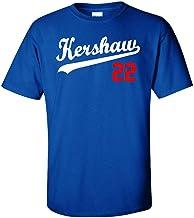 """Silo Shirts Blue Los Angeles """"Kershaw 22"""" T-Shirt"""