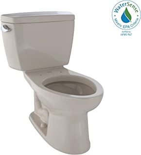 TOTO CST744E#03 Eco Drake Two-Piece Elongated 1.28 GPF Toilet, Bone
