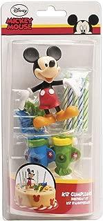 MICKEY 303000Kit Decoration Pastel Figura, plástico, Multicolor, 11x 5x 23cm