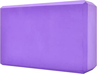 Techsea Yoga Block, High Density EVA Foam Yoga Brick, Soft Non-Slip Surface for Yoga, Pilates, Meditation, Workout
