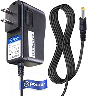 T POWER 9V Ac Dc Adapter Charger Compatible with Audiovox D1812 D1788 D1730 & Coby TF-DVD TF-DVD V.ZON 7