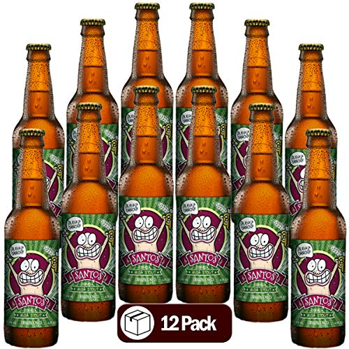 Cerveza Artesanal 12 Pack Corazón de Malta Santos 355 ml