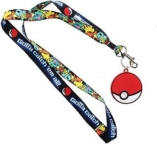 Pokemon Gotta catch em all! Lanyard