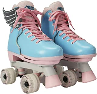 Best Circle Society Classic Adjustable Indoor and Outdoor Childrens Roller Skates - Classic Cotton Candy, 3-7 US Review