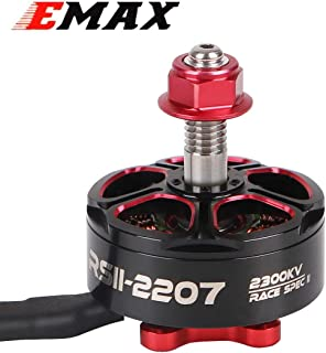 EMAX RSII2207 2300KV Brushless Motor CW Thread 3S 4S for 210 220 250 FPV Racing RC Drone Quadcopter Frame (RSII 2207 2300KV)