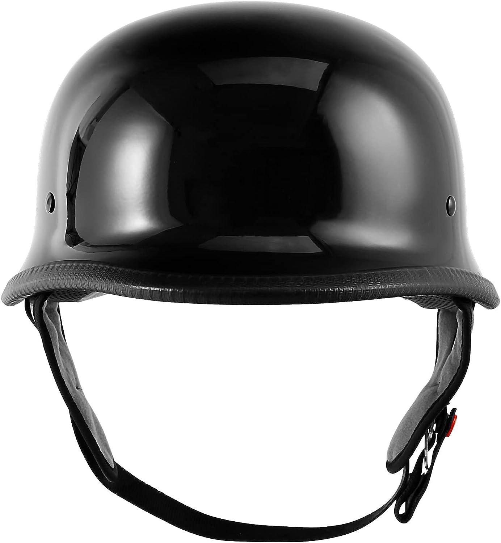 SLMOTO DOT Motorcycle Bike Great interest German Half Award Helmet for Open Face