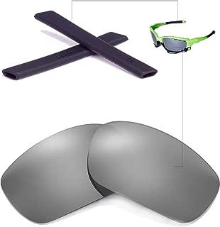Walleva Lenses and Earsocks for Oakley Racing Jacket - Multiple Options Available