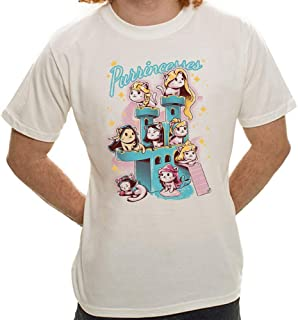 Camiseta Purrincess - Masculina