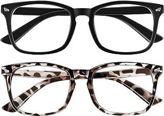 OKANY ブルーライトカットメガネ 度なし レディース&メンズ pcメガネ 軽量 紫外線カット メガネ だてめがね uvカット 伊達メガネ おしゃれ ブルーライトカット 目の疲れを緩和する ブルーライトカット眼鏡 度なし 睡眠改善 パソコン用...