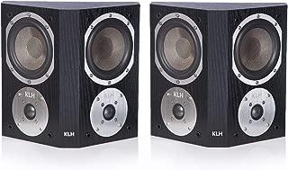 KLH Beacon Surround Speakers - Pair (Black Oak)