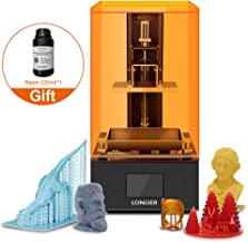 UV LCD 3D Printer Orange 10,SLA Resin 3D Printer with 2.8-inch Full Color Touch Screen Off-line Print Build Volume 3.86