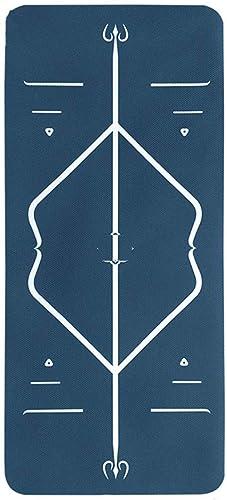 BAIF Tapis de Yoga, Tapis de Fitness, Tapis de Sport élargis allongés, 4 Couleurs   185cm  80cm  8mm