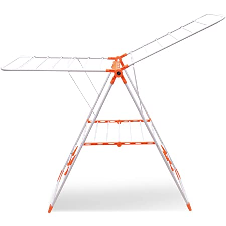 GRANTHRAJ Mobidry Neo Plus - Extra Large Foldable Clothes Drying Stand with Weather Resistant Frame