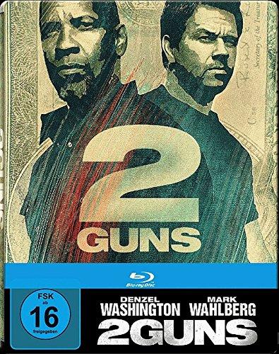 2 GUNS Limited Edition Steelbook (Blu ray)