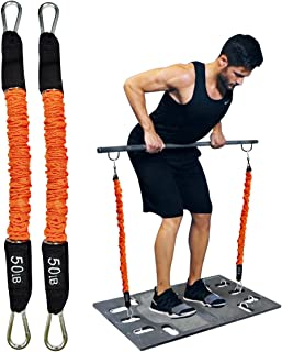 Resistance Bands Portable Home Gym Accessories Full Body...