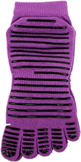 Non-Slip Dance Five Finger Socks Suitable for Ladies Yoga Socks,Fully Breathable