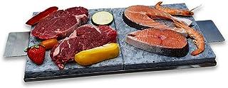 Piedras para carne a la piedra dos unidades + bandeja + coge-piedras