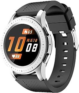 hwbq Smart Horloge Armband 1.3-Inch Full Circle Full-Touch Kleurenscherm Smart Phone Bluetooth Call Watch Sport Stap Telle...