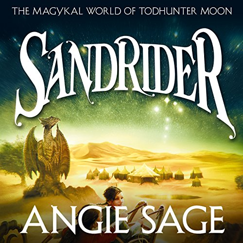 Sandrider audiobook cover art