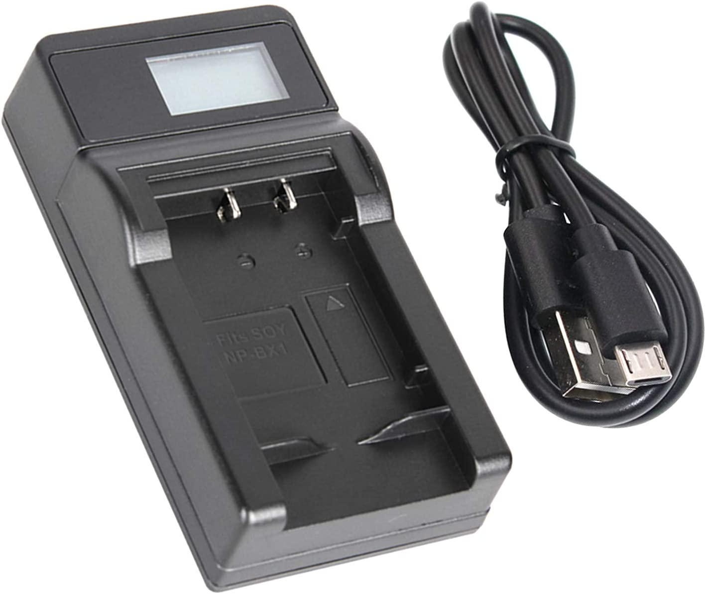 GZ-HM340BUS HD Everio Flash Memory Camcorder LCD USB Battery Charger for JVC Everio GZ-HM340 GZ-HM340BU
