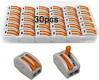 5 e 8 conductores S2273 Lata de 50 Bornas de conexi/ón 2 Wago 3
