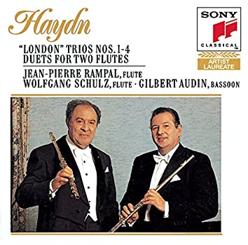 """Haydn: """"London"""" Trios Nos. 1-4 & Duets for 2 Flutes"""