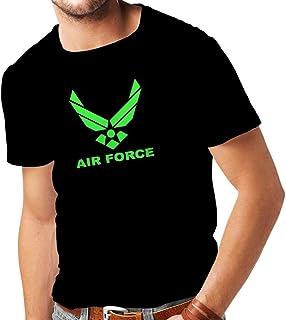 lepni.me Camisetas Hombre United States Air Force (USAF) - U