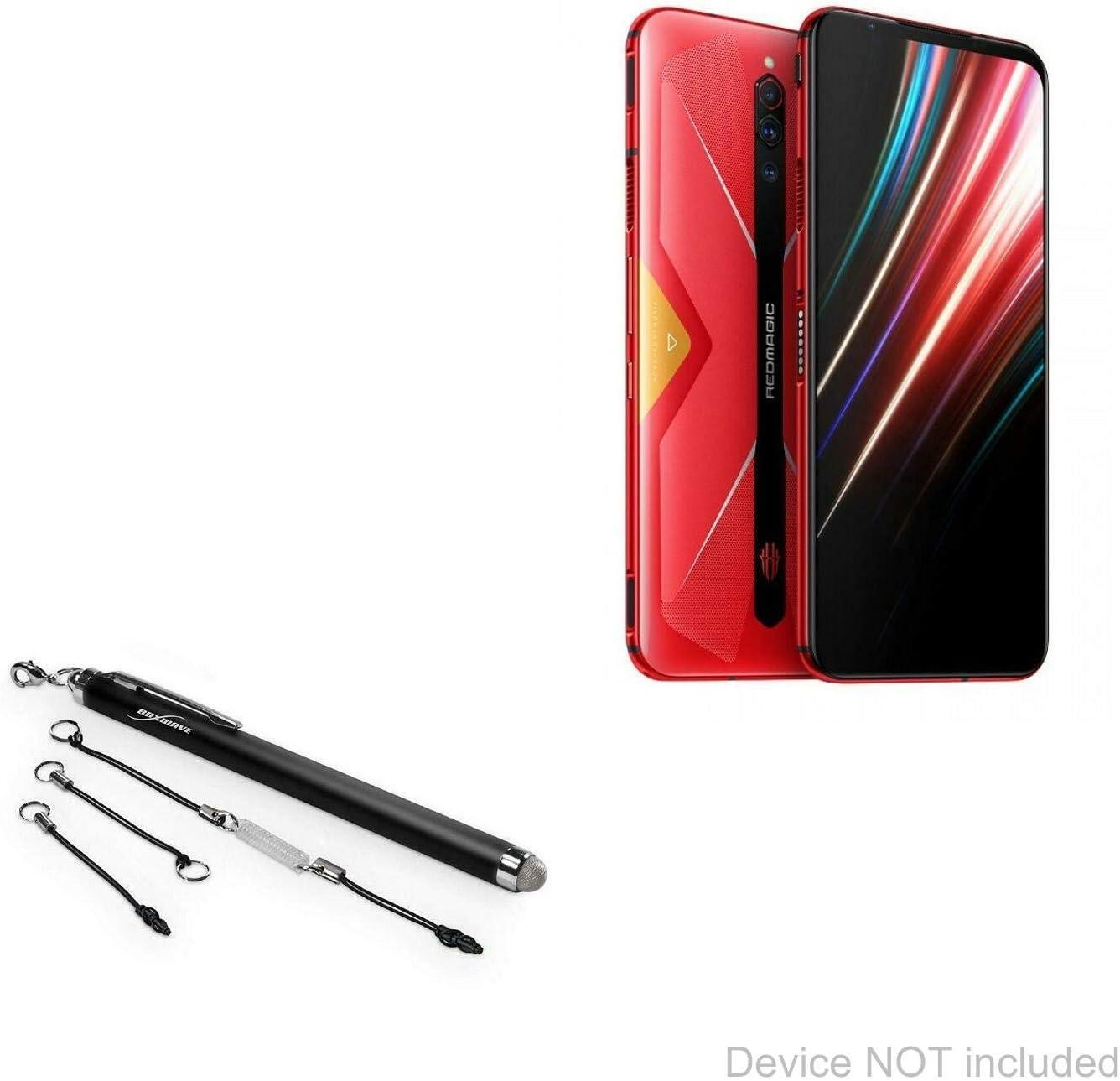 FineTouch Capacitive Stylus Jet Black Super Precise Stylus Pen for Teguar TM-5557 Teguar TM-5557 Stylus Pen BoxWave