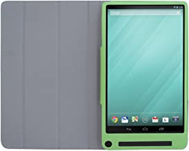 iShoppingdeals - for Dell Venue 8 7000 / 7840 Tablet Folding Folio Cover Case, Lawn Green